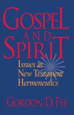 Gospel and Spirit book