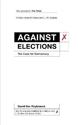 Against Elections book
