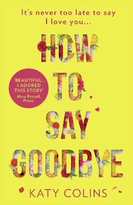 How to Say Goodbye book