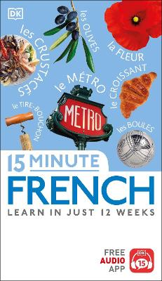 15 Minute French book