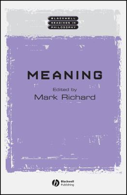 Meaning by Mark Richard