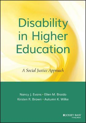 Disability in Higher Education book