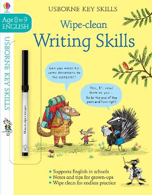 Wipe-Clean Writing Skills 8-9 by Caroline Young