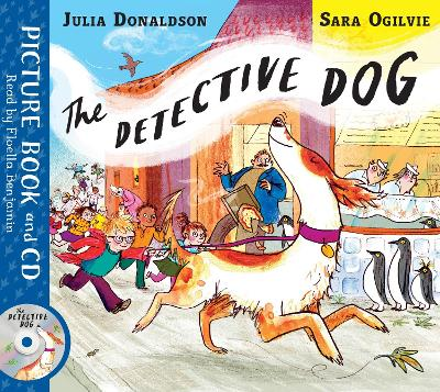 The Detective Dog: Book and CD Pack book