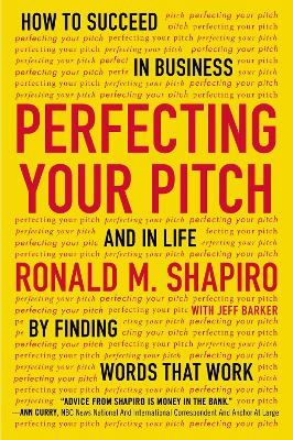 Perfecting Your Pitch by Jeff Parker