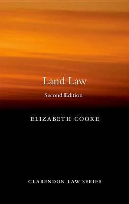 Land Law by Elizabeth Cooke