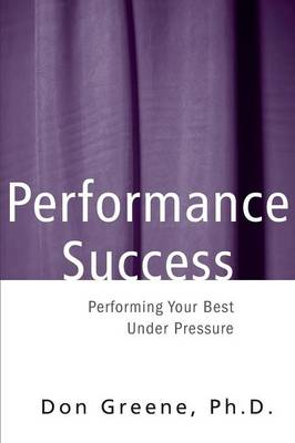 Performance Success book