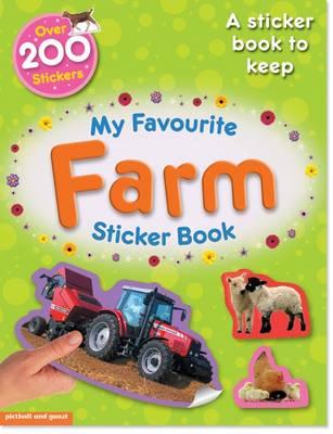 My Favourite Farm Sticker Book by Paul Calver