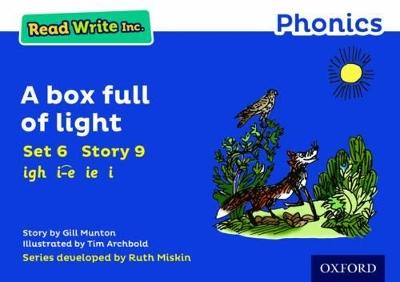 Read Write Inc. Phonics: Blue Set 6 Storybook 9 A Box Full of Light book