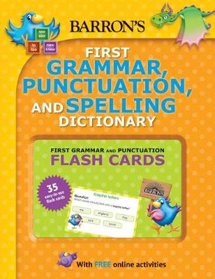 Barron's First Grammar, Punctuation and Spelling Dictionary by Jenny Roberts
