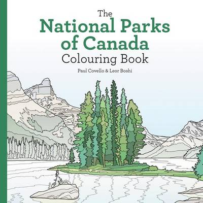 National Parks of Canada Colouring Book by Leor Boshi