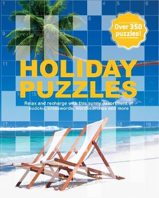 The Holiday Puzzle Book by Parragon Books Ltd