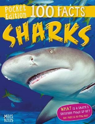 100 Facts Sharks Pocket Edition by Parker Steve