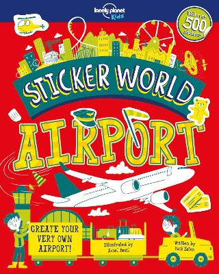 Sticker World - Airport by Lonely Planet Kids