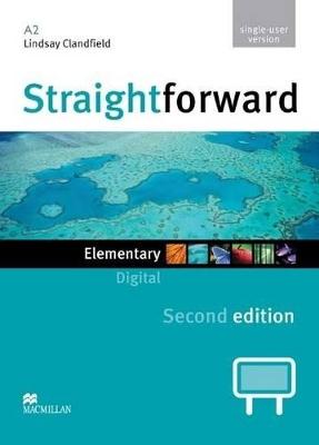 Straightforward 2nd Edition Elementary Level Digital DVD Rom Single User by Lindsay Clandfield