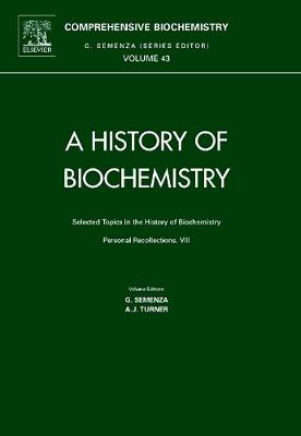 A Selected Topics in the History of Biochemistry book