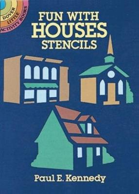 Fun with Houses Stencils book