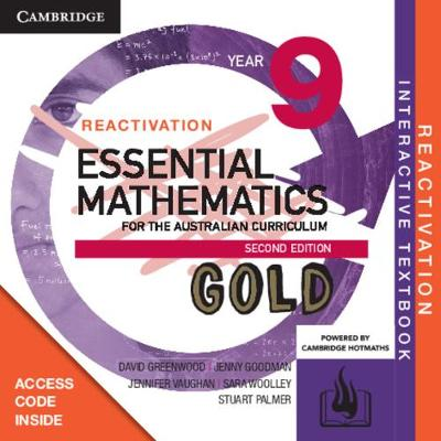 Essential Mathematics Gold for the Australian Curriculum Year 9 Reactivation (Card) by David Greenwood
