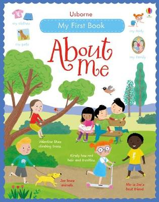 My First Book About Me by Felicity Brooks