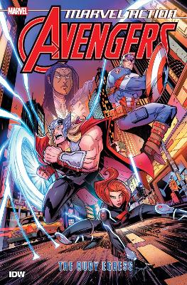 Marvel Action Avengers The Ruby Egress (Book Two) by Matthew K. Manning