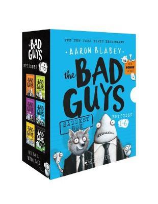 Baddest Box Episodes 1-6 + Tattoos by Aaron Blabey