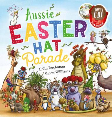 Aussie Easter Hat Parade (with CD) book