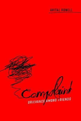 Complaint by Avital Ronell