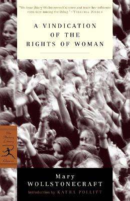 Mod Lib Vindication Of The Rights Of Woman book