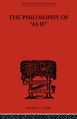 Philosophy of As if book