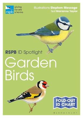 RSPB ID Spotlight - Garden Birds by Marianne Taylor