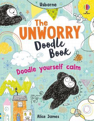 Unworry Doodle Book by Alice James