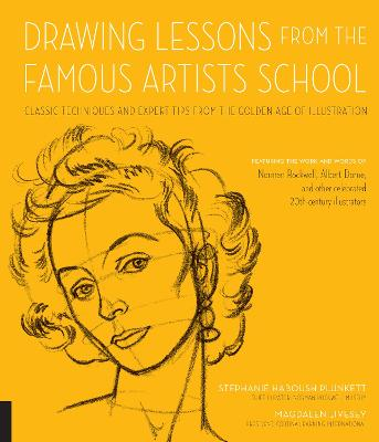 Drawing Lessons from the Famous Artists School by Stephanie Haboush Plunkett