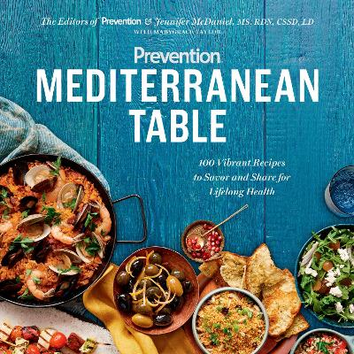 Prevention Mediterranean Table by Marygrace Taylor