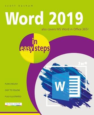 Word 2019 in easy steps by Scott Basham