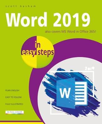 Word 2019 in easy steps by Scott Basham
