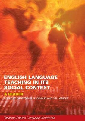 English Language Teaching in Its Social Context by Neil Mercer