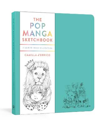 The Pop Manga Sketchbook: A Guided Drawing Journal book