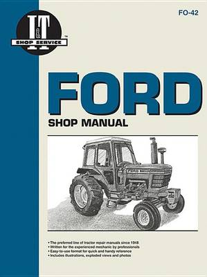 Ford Shop Service Manual book