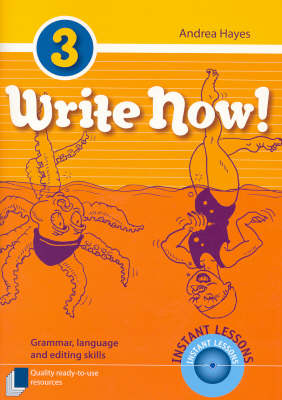 Write Now!  Bk. 3 by Andrea Hayes