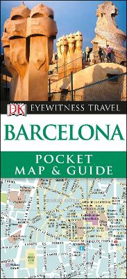 Barcelona Pocket Map and Guide by DK Travel