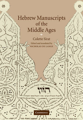 Hebrew Manuscripts of the Middle Ages book