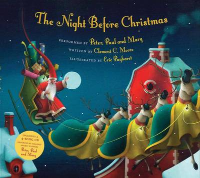 Night Before Christmas PB + CD by Clement C. Moore