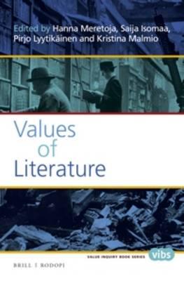 Values of Literature by Hanna Meretoja