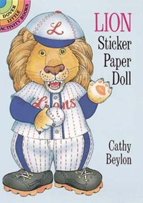 Lion Sticker Paper Doll by Cathy Beylon