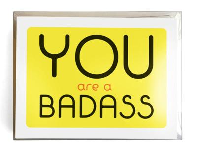 You Are a Badass (R) Notecards: 10 Notecards and Envelopes by Jen Sincero