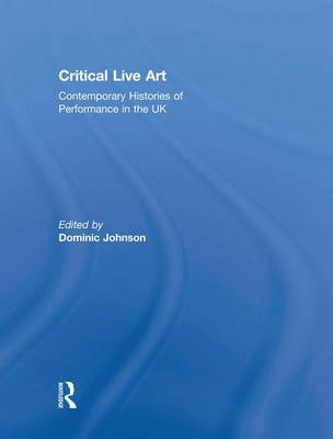 Critical Live Art book