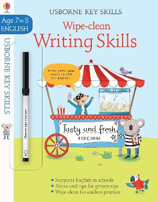 Wipe-Clean Writing Skills 7-8 by Caroline Young