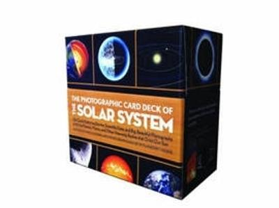 Photographic Card Deck Of The Solar System: 126 Cards Featuring Stories, Scientific Data, and Big Beautiful Photographs of All the Planets, Moons, and Other Heavenly Bodies That Orbit Our Sun by Marcus Chown