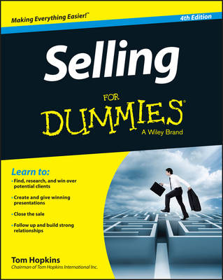 Selling For Dummies book