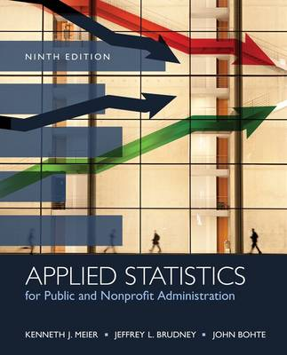 Applied Statistics for Public and Nonprofit Administration by Jeffrey Brudney